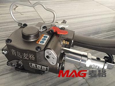 新款高配AQD-19气动塑钢带打包机